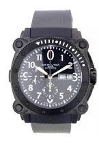 Hamilton Men's H78686333 Khaki Navy BelowZero Black Chronograph Dial Watch