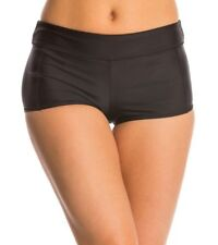 Speedo Women's Solid Boyshort Bikini Bottom 120820 sz XS $44