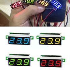 028 Inch Mini Digital Voltmeter Dc 25030v Panel Mount Led Voltage Volt Meter