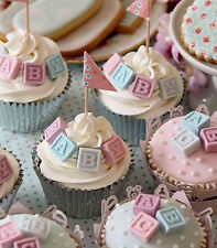 Sugarcraft Molds Polymer Clay Molds Cake Decorating (A-Z ) Alphabet Blocks Mold