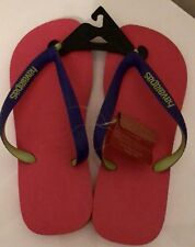 Havaianas Thongs Size 8 39/40 Pink Purple Thicker Sole BNWT