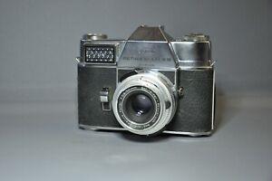 Kodak Retina Reflex III 35mm SLR Camera with Schneider Xenar 50mm F2.8 Lens