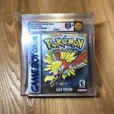 Pokemon Gold Version Sealed New Rare Gameboy Color Game Boy VGA Graded 85+ NM+