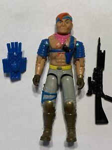 G.I. Joe Cobra Zandar Dreadnok 1986 Complete