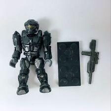 Mega HALO Black RECON Spartan blocks unsc elephant construx Action Figure + Gun