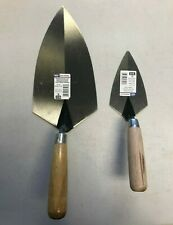 "Marshalltown Philadelphia 10"" Brick and 5 1/2"" Pointing Trowel Set"