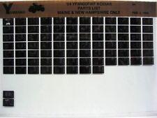 Yamaha YFM400 1994 Kodiac YFM400FWF MNH Parts List Manual Microfiche s17
