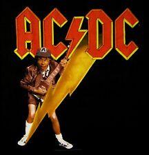 AC/DC cd cvr HIGH VOLTAGE Official SHIRT XL New angus lightning bolt