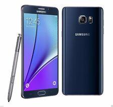 Samsung Galaxy Note 5 black SM-N920c 32GB FACTORY UNLOCKED 5.7 QHD  4GB RAM