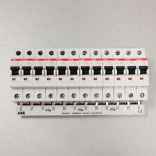 ABB Set: 12x S201-B16 Leistungsschutzschalter + 1x Phasenschiene PS3/12