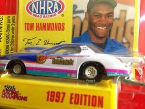 "1997 TOM HAMMONDS ""ABOVE THE RIM"" 1/64 NHRA PONTIAC FIREBIRD P/S DIECAST LAST 1!"