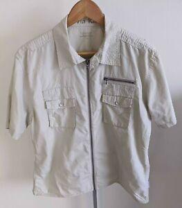 Calvin Klein: Half-Sleeve Zipper Shirt