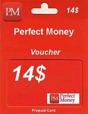 PERFECT MONEY | KOD | VOUCHER | USD 14$ | TOP SPRZEDAWCA | SZYBKO !