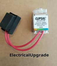 Clipsal Saturn Offer Push Button Dimmer With Led Light ISPB 350W (4061E2PUDMTR)