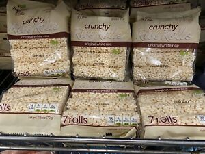 LOT OF 6 Packs!!!! Harvest And Lea Crunchy Rice Rolls New Wow!!