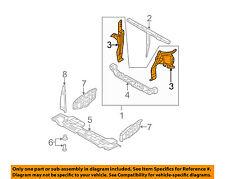 KIA OEM 06-12 Sedona Radiator Support-Side Panel Left 641014D010