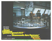DIAMONDS ARE FOREVER LOBBY CARD size MOVIE POSTER Card #8 SEAN CONNERY