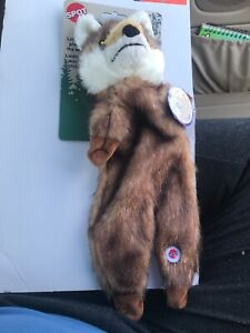 New Ethical Brown Plush Furzz Fox 13.5in