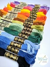 DMC Embroidery cotton floss 100 for $62 Skeins. Pick your color!! Free Shipping!