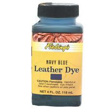 New listing C-004Z Fiebing'S Leather Dye Navy Blue 4 Ounce