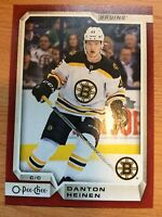 O-Pee-Chee 2018-2019 RED BORDER DANTON HEINEN HOCKEY CARD #172