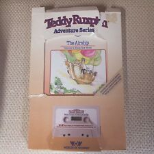 Teddy Ruxpin Book The Airship: A Whole New World includes cassette 1985 VINTAGE