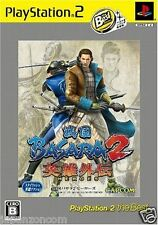 Used PS2 Sengoku Basara 2 Heroes Capcom SONY PLAYSTATION JAPAN IMPORT