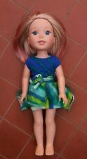 AMERICAN GIRL Wellie Wishers Camille Doll & Outfit