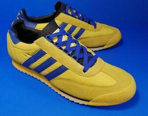 ADIDAS SL 76 MONTREAL sneakers (Vintage 2003) YELLOW/ROYAL  SUPERSTAR 038814