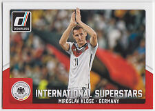 MIROSLAV KLOSE 2015 Donruss Soccer International Superstars #34 Germany