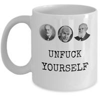 Psychology coffee mug - Unf*** Yourself - Funny psychologist self-help joke gift