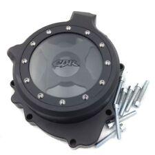 Black Aluminum Left Engine Stator Cover See Through For Honda CBR600RR 2003-2006