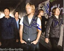 Switchfoot  8 x 10 Autograph Reprint  Dare You to Move  Meant to Live  Stars