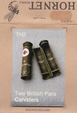 HORNET MODELS TH2 - 2 BRITISH PARA CANISTERS - 1/35 WHITE METAL