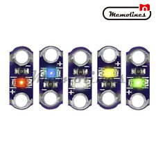 25PCS Yellow/Green/White/Blue/Red LED 3V-5V LilyPad SMD DIY Kit Module Light
