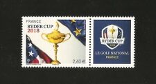 FRANCE 2018-RARE-TIMBRE N° 5245A RYDER CUP à 2.60 du bloc 144  - NEUF** LUXE MNH