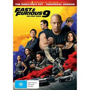 FAST And FURIOUS 9 : The Fast Saga : NEW DVD