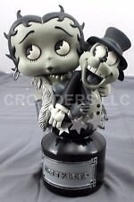 "Betty Boop & Bimbo Statue 10"" Bust Black & White Variant Legends in 3D Aronowitz"