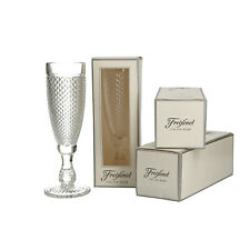 More details for 4 x freixenet fancy cut glasses in gift box, bar, party time.