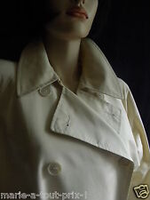 VISCONF ITALY IMPER TRENCH COAT BEIGE CLARISSA TAILLE FR 40 IT 44 IMPERMEABLE