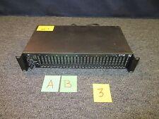 ELECTROVOICE EV EQUALIZER 1/3 ONE THIRD OCTAVE XLR PRO AUDIO RACK MOUNT 2U USED