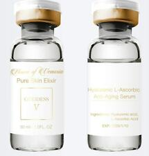 100% Pure Hyaluronic Acid & L-Ascorbic (Vit C) Serum-Nature's Anti-aging Miracle