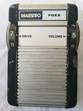 MAESTRO MFZ-1 FUZZ (BOB MOOG) - FREE NEXT DAY DELIVERY IN THE UK
