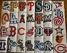 MLB Logo Baseball Decal Stickers Choose Your Team 30 Teams Free Shipping