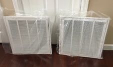 "Lot Of 2 Hart & Cooley - 552239 - 20"" x 20"" 659TI Steel Return Air Filter Grille"