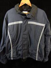 "Men's Burton Snowboard Universe Blue/Gray Zip Up Jacket/Coat; 26"" Long"