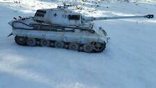 heng long 1/16 king tiger rc model tank custom painted