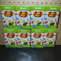 Jelly Belly Sours Lot Of 8- 4.5 Oz Boxes Jelly Beans New Fresh Gourmet Candy