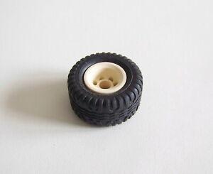 PLAYMOBIL (X418) FORET - Roue pour Jeep 4x4 & Remorque Garde Forestier 4206