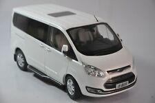 Ford Tourneo model in scale 1:18 White
